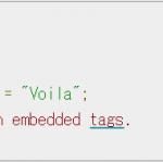 WordPressでコードをきれいに表示してみよう Google,code-prettify